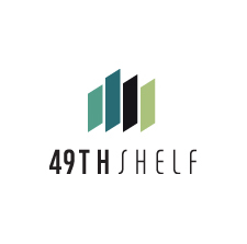 The 49th Shelf Vertical Logo