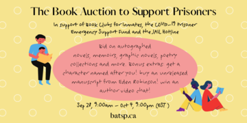 The Book Auction to Support Prisoners