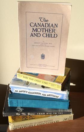 Vintage Parenting Advice Books
